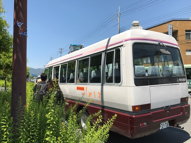 高雄もみぢ家の無料送迎バス