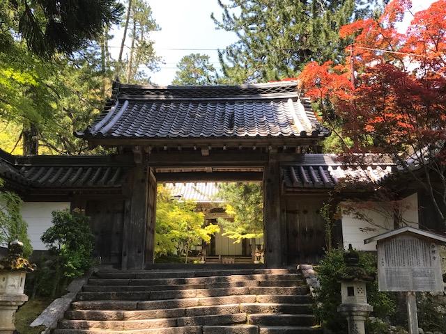 西明寺山門